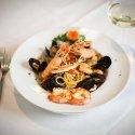 Il menu di mare del ristorante al Crap di Tresivio